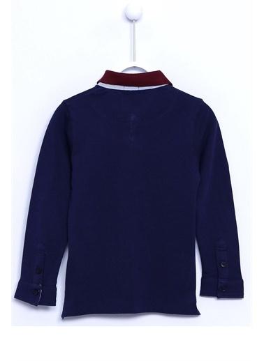 Silversun Kids Polo Gömlek Örme Uzun Kollu Düğmeli Polo Yaka Tişört Erkek Çocuk Bk 310091 Lacivert